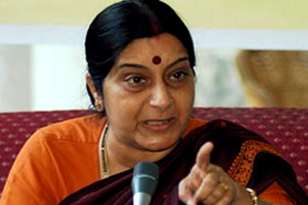 Pakistan's Kashmir dream won't be fulfilled: Sushma Swaraj