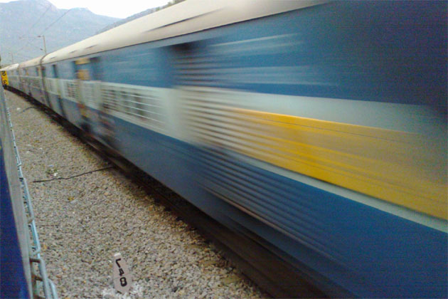 Upset over mother's death, 18-year-old jumps before speeding train