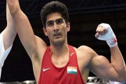 Boxer Vijender Singh beats Matiouze Royer, registers fifth consecutive pro win
