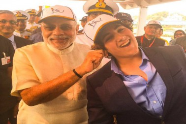 When PM Narendra Modi pulled Akshay Kumar's son, Aarav's ear
