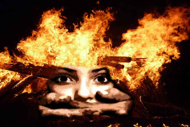 Girl burnt alive by stalker after she resisted rape attempt