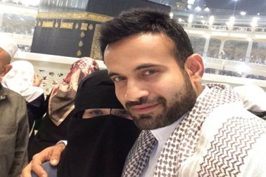 Newlywed cricketer Irfan Pathan posts picture with wife on their visit to Mecca