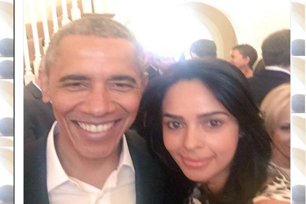 Mallika Sherawat tweets a selfie with 'charismatic' President Barack Obama