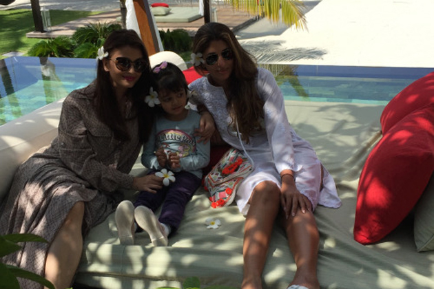 IN PICS: Bachchan family's private trip to Maldives