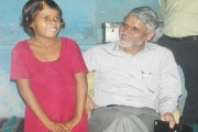 Collector adopts a 9-year-old orphan girl, gets her admitted to an English-medium school