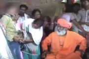 VIDEO: Sakshi Maharaj asks girl to unbutton jeans to show injuries inflicted by cops