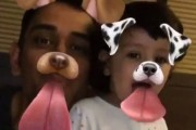 Cuteness alert! MS Dhoni and daughter Ziva overload snapchat with some daddy-daughter bonding