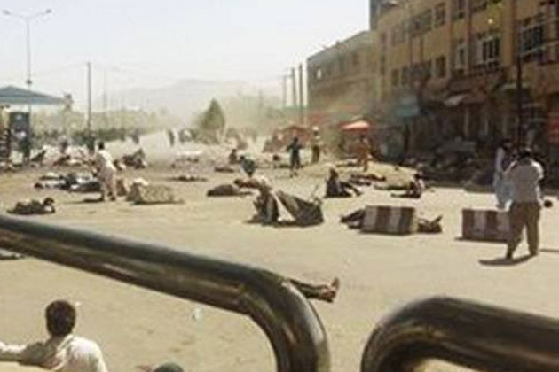 Over 60 dead, 207 wounded as blast rips through Kabul protest