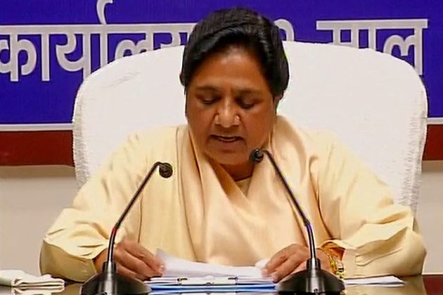 Dayashankar's remarks part of a bigger conspiracy by top brass at BJP: Mayawati