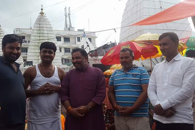 Absconding Dayashankar Singh visited Baidyanath temple in Deoghar