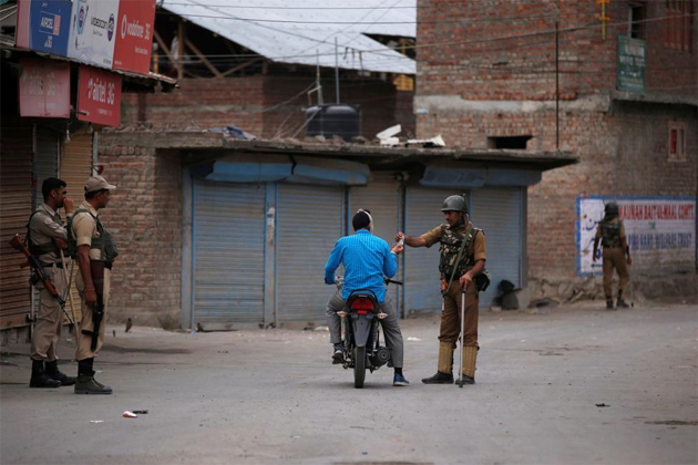 Home Minister Rajnath Singh reaches Kashmir, curfew lifted from 4 districts