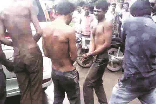 Una Dalit flogging victims also being treated for depression