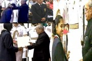 Sakshi, Sindhu, Dipa and shooter Jitu get Rajiv Gandhi Khel Ratna