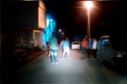 Caught on camera: Drunk youngsters brutally thrash two boys