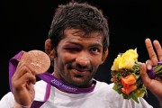 London Olympics: Wrestler Yogeshwar Dutt confirms silver medal, no official word yet