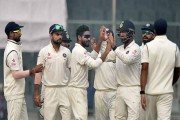 India beat New Zealand by 197 runs to win 500th Test, lead series 1-0