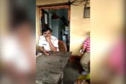 WATCH: Abusive cop misbehaves with woman complainant