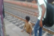 WATCH: Child miraculously survives after being run over by a train in Jhabua