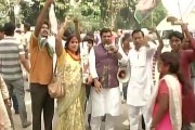 Celebrations over huge victory of Grand Alliance in Bihar polls