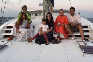 Bachchan family celebrates Abhishek's 40th birthday in Maldives