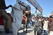 Cruelty in pics: BJP MLA Ganesh Joshi attacks police, breaks horse's leg