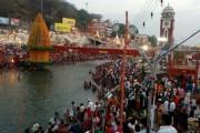 Ardh Kumbh: Devotees throng Ganga ghats for holy dip on Budh Purnima