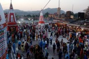 Ardh Kumbh: Devotees throng Haridwar for holy dip on the occasion of...