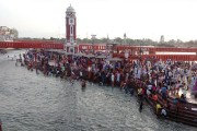 Ardhkumbh photos: Devotees throng Har Ki Pauri to take holy dip on Chaitra...