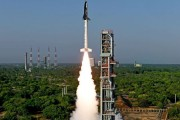 India launches its first indigenous space shuttle, the RLV-TD, from Sriharikota