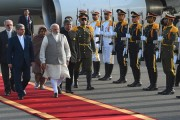 PM Modi's Iran visit in pics