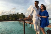 Anita Hassanandani vacations in Maldives with beau Rohit Reddy