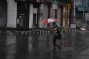 Rain drenches Pink City, residents get relief from heat