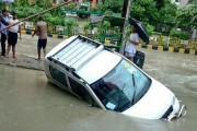 Heavy rains wreak havoc, flood streets in Ghaziabad