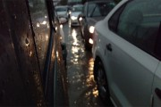 In Pics: Heavy rains lash Delhi-NCR, traffic snarls leave commuters in the lurch