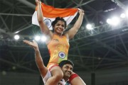 Rohtak girl Sakshi Malik claims India's first medal at Rio Olympics
