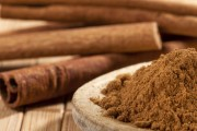 Try cinnamon to help cool your stomach