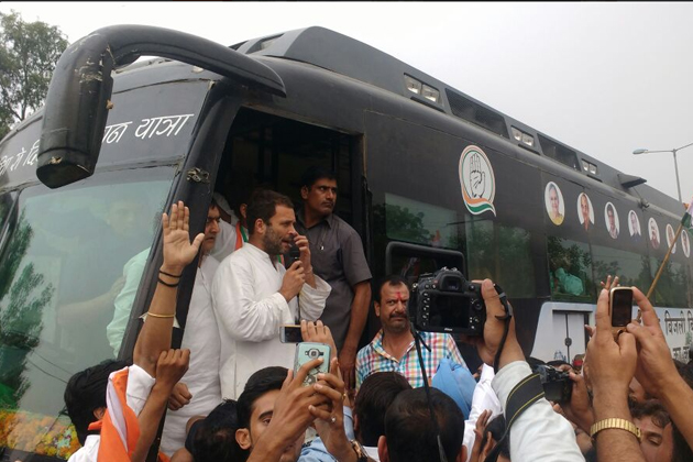 """Rahul Gandhi on Thursday targeted Prime Minister Narendra Modi over the IDS scheme alleging that he had failed to act against blackmoney despite his talk of """"56-inch chest"""" to fight corruption, and instead brought out a scheme for turning into white the ill-gotten wealth of """"thieves""""."""